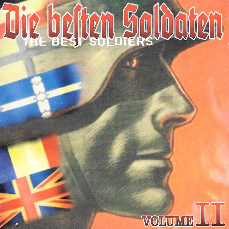 """Compilation européenne """"Die Beßten Soldaten vol. II"""" sortie en 1998"""