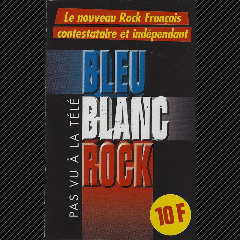 K7 compilation Bleu Blanc Rock (1999)