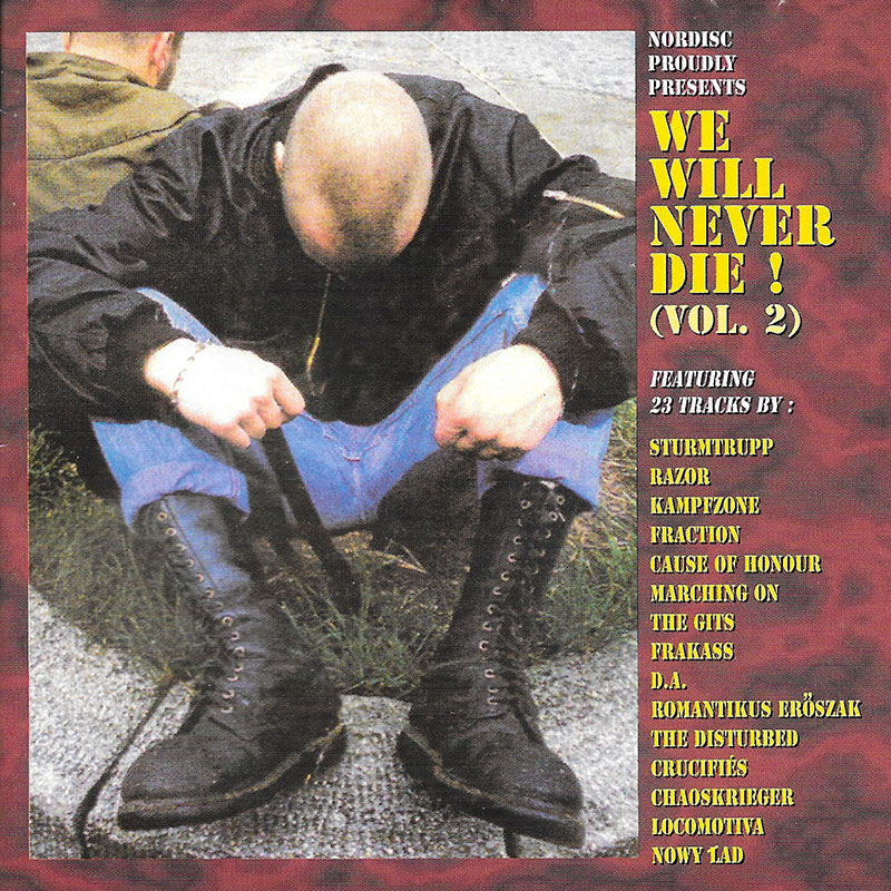 "Compilation européenne ""We will never die"" volume 2 sortie en 1999"