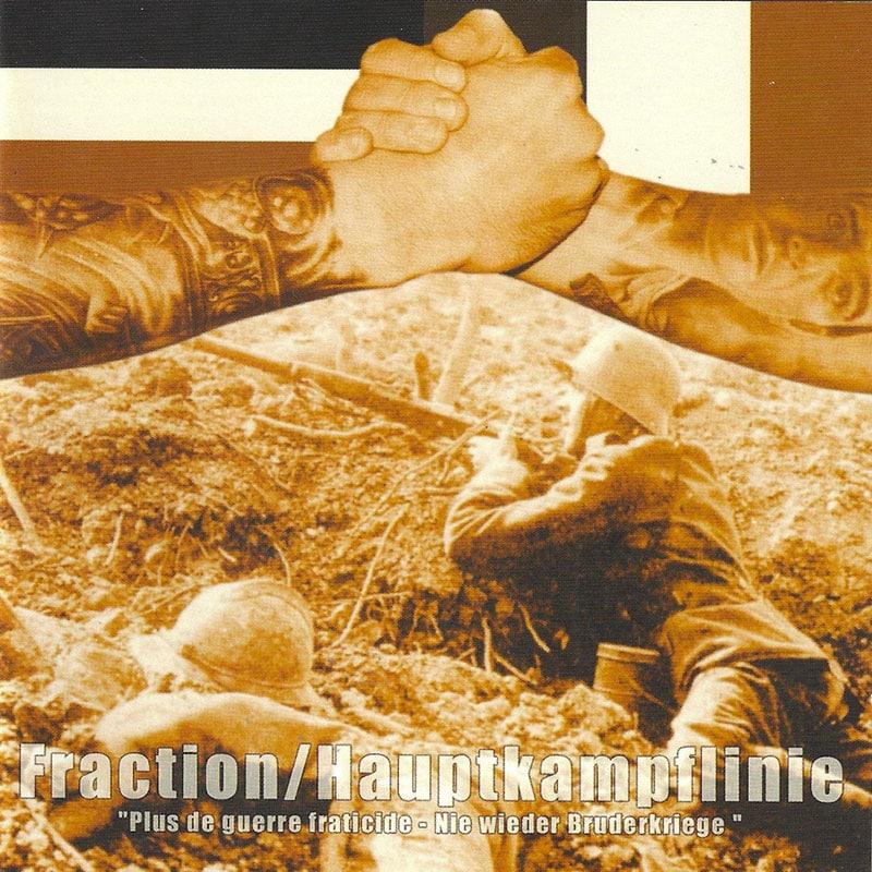 "Split CD Fraction/HKL ""Nie wieder Brunderkriege"" sorti en janvier 2003"