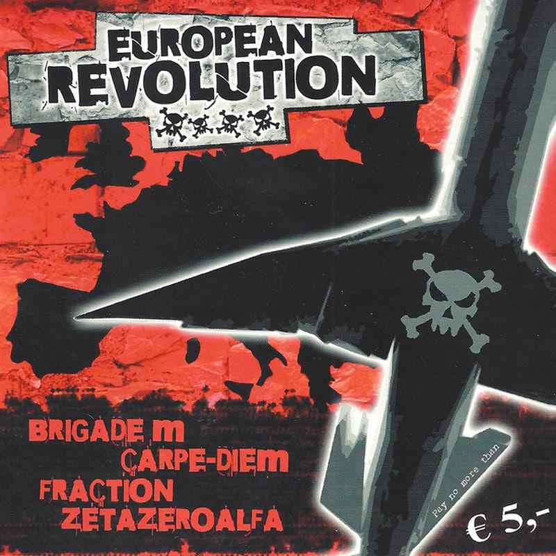 "Compilation européenne ""European Revolution"" sortie en juin 2007"