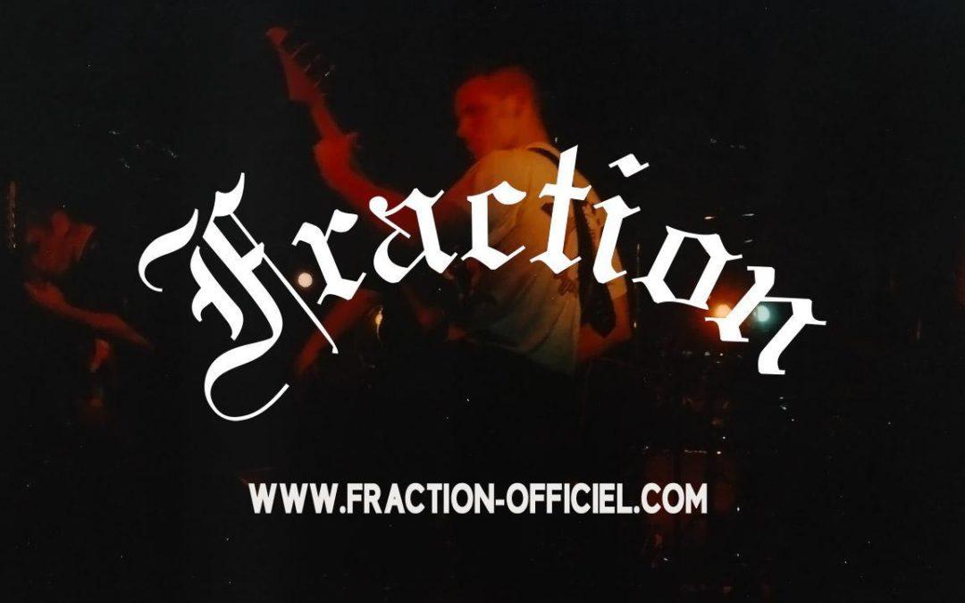 Pour fêter ses 25 ans, le groupe FRACTION lance un nouveau site web officiel !