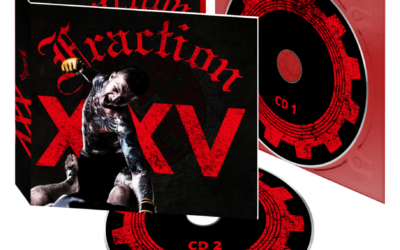 Le groupe FRACTION sort la compilation « XXV » en CD digipack