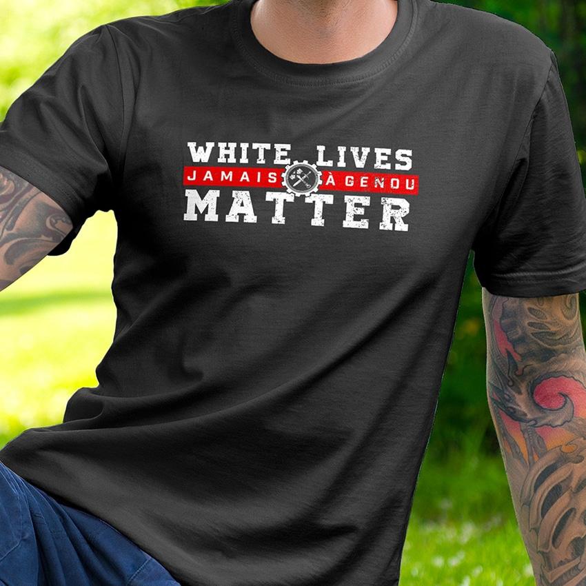 Fraction : « White Live Matters – Jamais à genou »